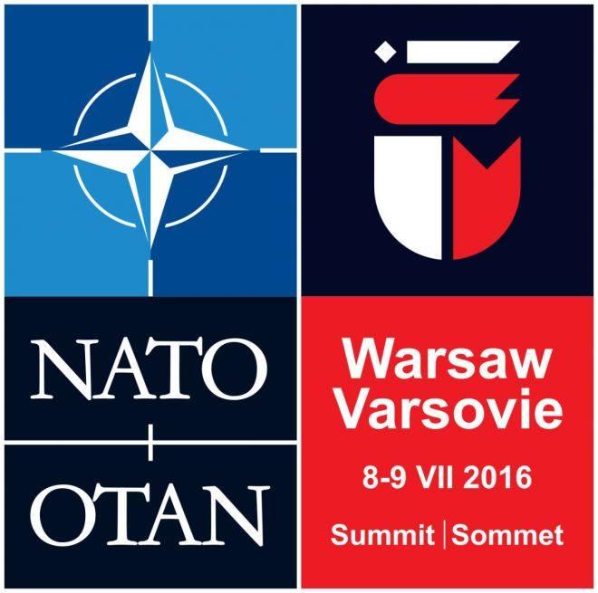 Szczyt nato plakat